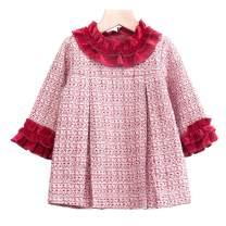 mubenshang Baby Girls Sparkly Dress Girls Playwear Dresses Toddler Girls Pullover Dress Newborn Girl Dresses