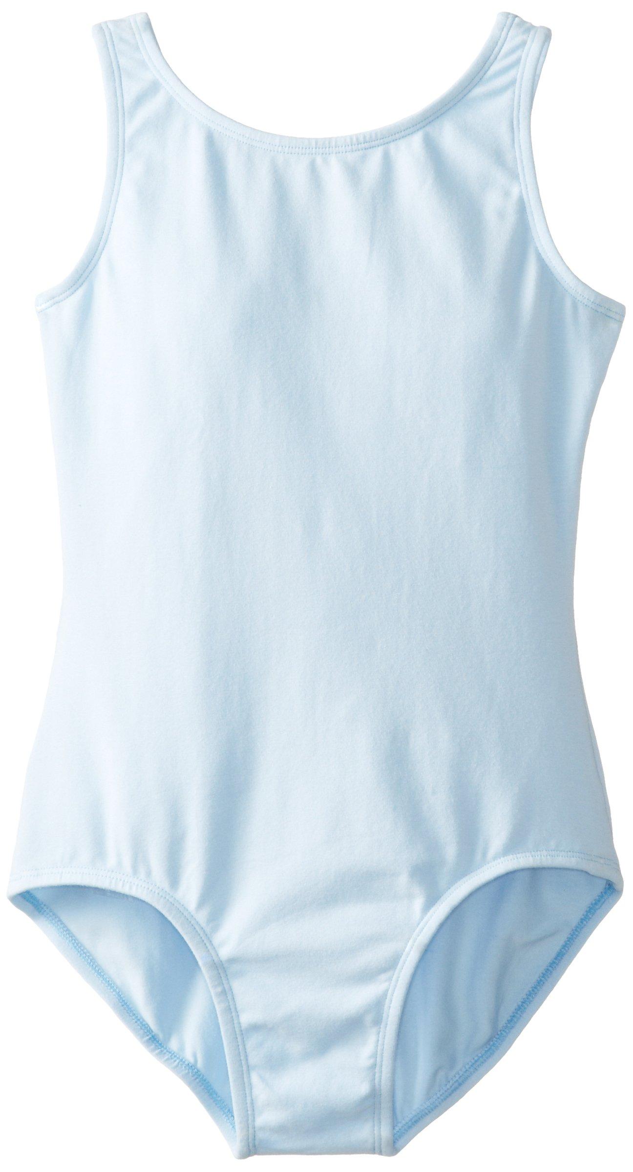 Little Girl's Leotard Ballet Cut Sleeveless Cami Tank One Piece Bodysuit Dancewear