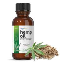 WeightWorld Premium Organic Hemp Oil 500MG - Natural Hemp Oil for Pain Relief, Helps with Sleep, Stress Relief & Anxiety, Natural Inflammatory Help - 100% All Natural Hemp - 30ml - Mint Flavor