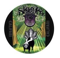 "Califari Skunk - Weed Dab Pad mat, an 8"" Mousepad Style Cannabis Dabmat, Rig Mat, Marijuana Coaster, Perfect Stoner Gift"