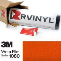 3M 1080 G364 Gloss Fiery Orange 5ft x 14ft W/Application Card Vinyl Vehicle Car Wrap Film Sheet Roll