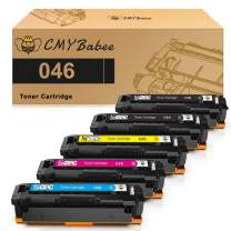 CMYBabee Compatible Toner Cartridge Replacement for Canon 046 046H CRG 046 for Color ImageCLASS MF731Cdw MF733Cdw LBP654Cdw MF735Cdw Laser Printer (5 Pack)