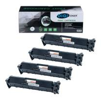 DigiToner 4Pk Replacement 30A CF230A Laser Toner Cartridge for Laserjet Pro M203 Series