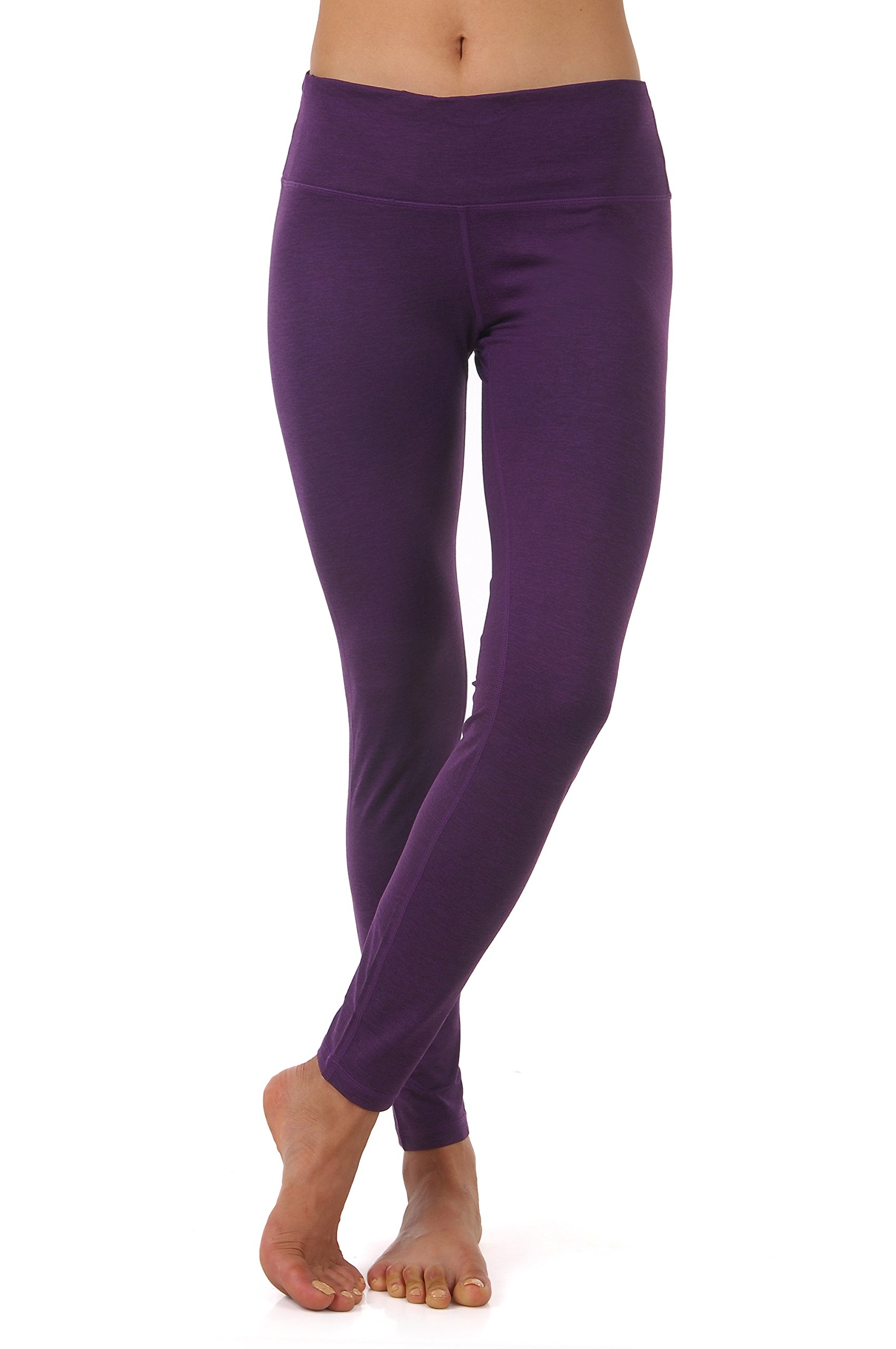 ZEROGSC Women's Yoga Pants - Workout Running Tummy Control Stretch Power Flex Long/Capris Leggings