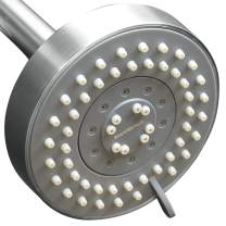ShowerMaxx, Choice Series, 5 Spray Settings 4 inch Adjustable High Pressure Shower Head, MAXX-imize Your Shower with Showerhead in Polished Chrome Finish