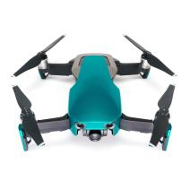 Wrapgrade Poly Skin for Mavic Air | Unit A: Colored Parts and Rear Trim (Caribbean Blue)