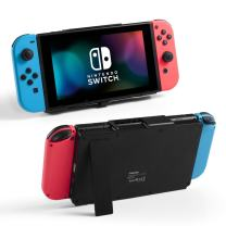 Nintendo Switch Battery Charger Case , 10000mAh Gaming Powerbank Portable Extended Battery Pack Charging Case Cover with Kickstand Compatible with Nintendo Switch Charge and Play Accessories by Insten