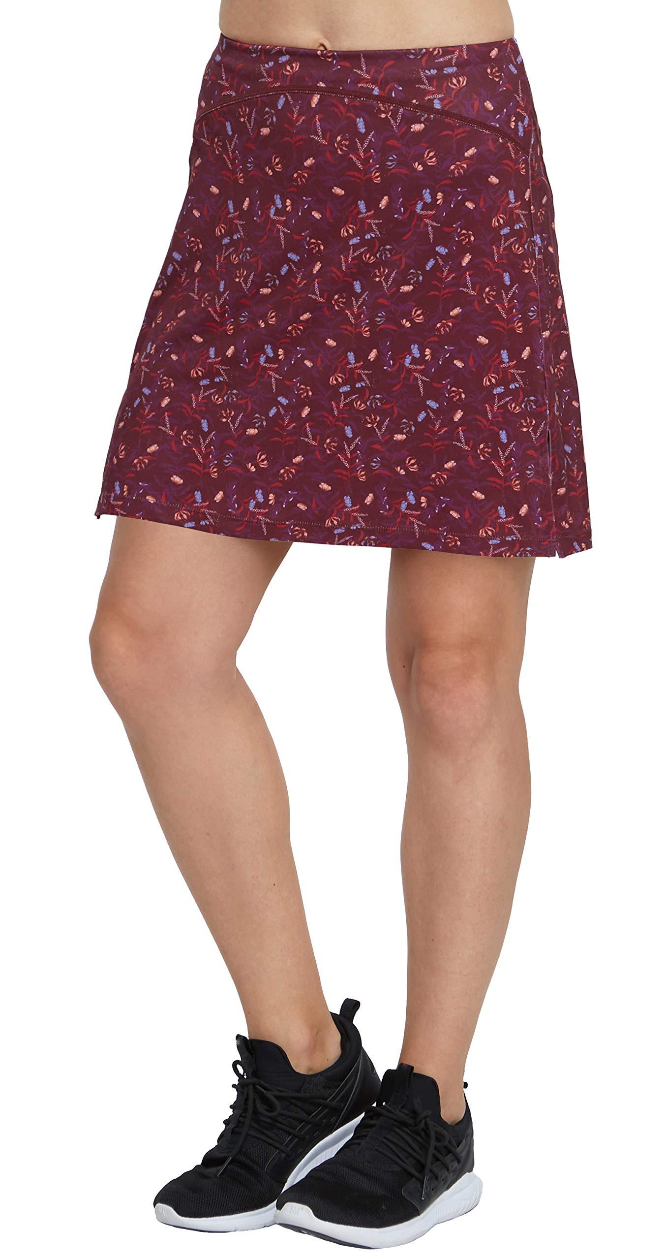 slimour Women Modest Running Skirt Travel Skirts with Pocket High Waist Skorts