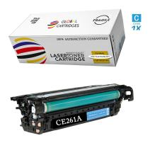 Global Cartridges Remanufactured Toner Cartridge Replacement for HP 647A ( Cyan , 1-Pack )