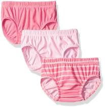 Hanes Ultimate Baby Flexy 3 Pack Diaper Covers, Pinks, 6-12 Months