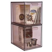 "STORi Mod Stackable Pantry Storage Drawers 6-3/4"" Tall 
