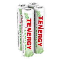 Tenergy Centura AAA Low Self-Discharge (LSD) NiMH Rechargeable Batteries, 1 Card 4xAAA