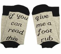 Easyhon Christmas Unisex If You Can Read This Socks