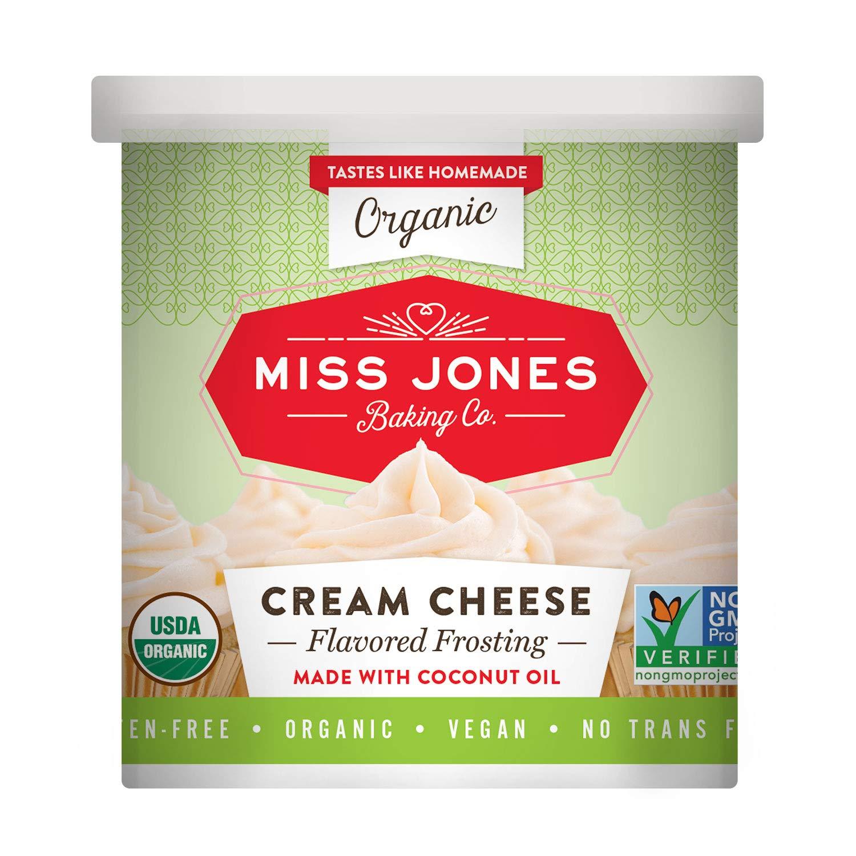 Miss Jones Baking Organic Frosting, Cream Cheese (Pack of 1)