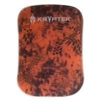 Kryptek Inferno (XL) Gel Pad - Strong Anti-Slip Grip on Car Dashboard for Cell-Phone, Tablet, GPS, Office, Coins, Keys or Sunglasses