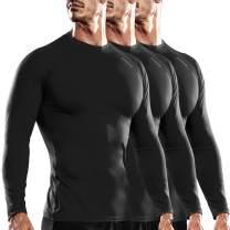 DRSKIN 1~3 Pack Compression Cool Dry Sports Top Shirt Baselayer Running Leggings Yoga Rashguard Men