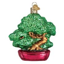 Old World Christmas Assortment Glass Blown Ornaments for Christmas Bonsai Tree