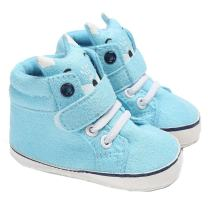 CoKate Baby Boys Girls High-Tops Sneakers Toddler Soft Sole First Walkers Shoes Crib Shoes