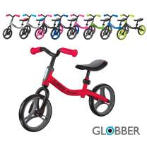 Globber GO Bike Compact, Adjustable Balance Bike for First-timers. Toddler Bike Teaches Essential Motor Skills and Balance Before transitioning to Their First Pedal Bike