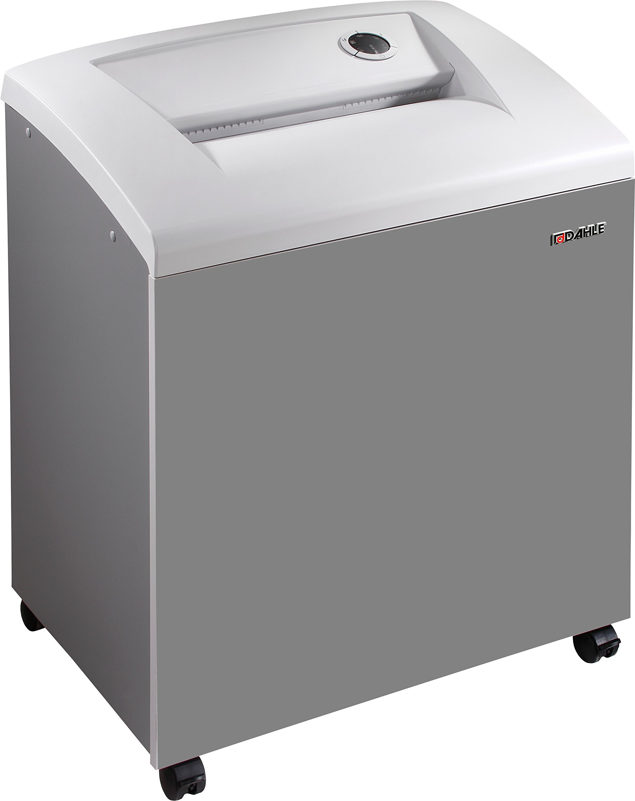 Dahle 40530 Paper Shredder w/Automatic Oiler, SmartPower, Jam Protection, Extreme Cross Cut, Security Level P-6, 10 Sheet Max, 3-5 Users