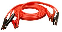 Coleman Cable 08665 12-Feet Heavy-Duty Truck and Auto Battery Booster Cables with Polar Glow Clamps, 4-Gauge