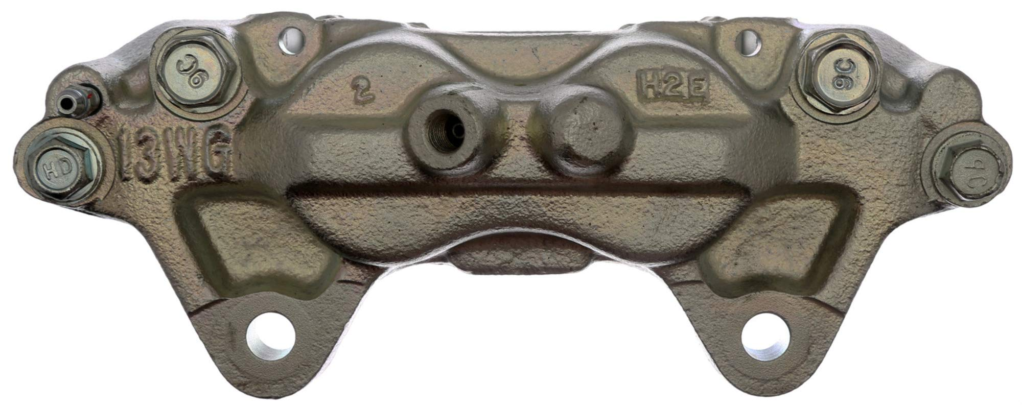 ACDelco 18FR2141C Professional Front Passenger Side Disc Brake Caliper Assembly without Pads (Friction Ready Coated), Remanufactured