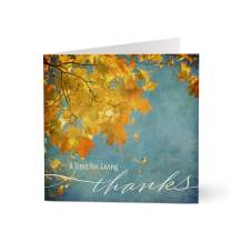 Hallmark Business Thanksgiving Cards for Employees (Thanksgiving Fall Leaves) (Pack of 25 Greeting Cards)
