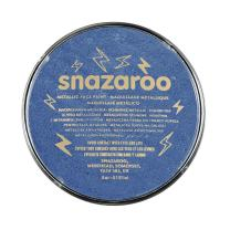 Snazaroo Face Paint, 18ml, Electric, One Size, Metallic Blue