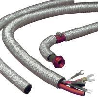 "Design Engineering 010414 Cool-Tube Heat Reflective Sleeve, 0.5"" x 36"" - Silver"