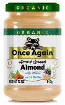 Once Again Amoré Organic Spread Almond with White Chocolate 12 oz