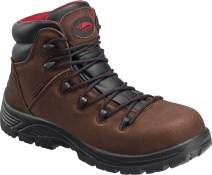 "FSI Avenger 6"" Leather Comp Toe Waterproof Puncture Resistant EH Slip Resistant Hiker Boot"
