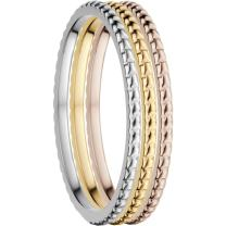 Bering Women's Ring Combination -Nice. Interchangeable Mix & Match Rings from The Arctic Symphony Collection. Designed in Denmark.