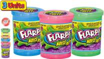 JA-RU Flarp Noise Putty Scented (3 Units Assorted) Squishy Sensory Toys for Easter, ADHD Autism Stress Toy, Great Party Favors Fidget for Kids and Adults Boys & Girls. 10041-3