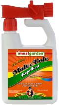 I Must Garden Mole & Vole Repellent Hose End Concentrate: Professional Strength – Twice The Coverage – All Natural Ingredients – 32oz