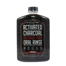 My Magic Mud Activated Charcoal Oral Mouthwash Rinse Teeth Whitening Alcohol Free Gum Health Cavities Protection Freshens Breath Cinnamon Flavor Dental Hygiene