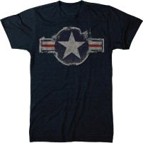 Vintage US Air Force Logo Men's Modern Fit Tri-Blend T-Shirt
