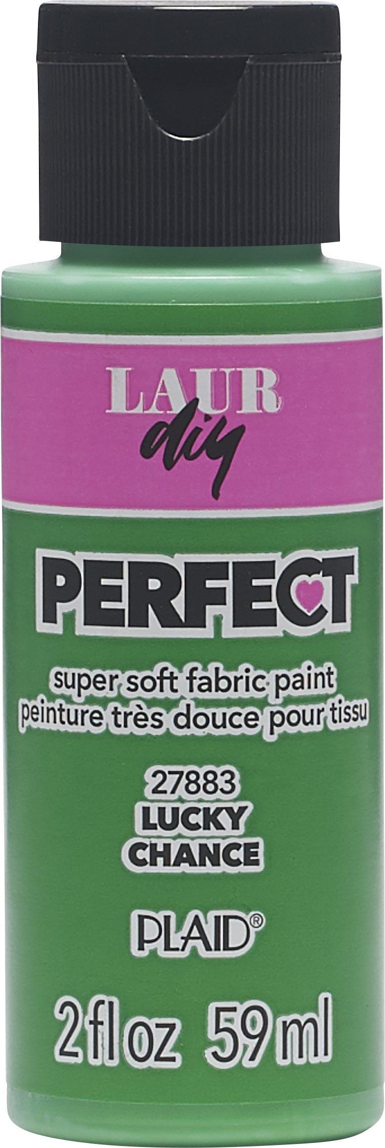 LaurDIY Perfect Fabric Paint, 2 oz, Lucky