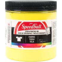 Speedball Fabric Screen Printing Ink, 8-Ounce, Yellow
