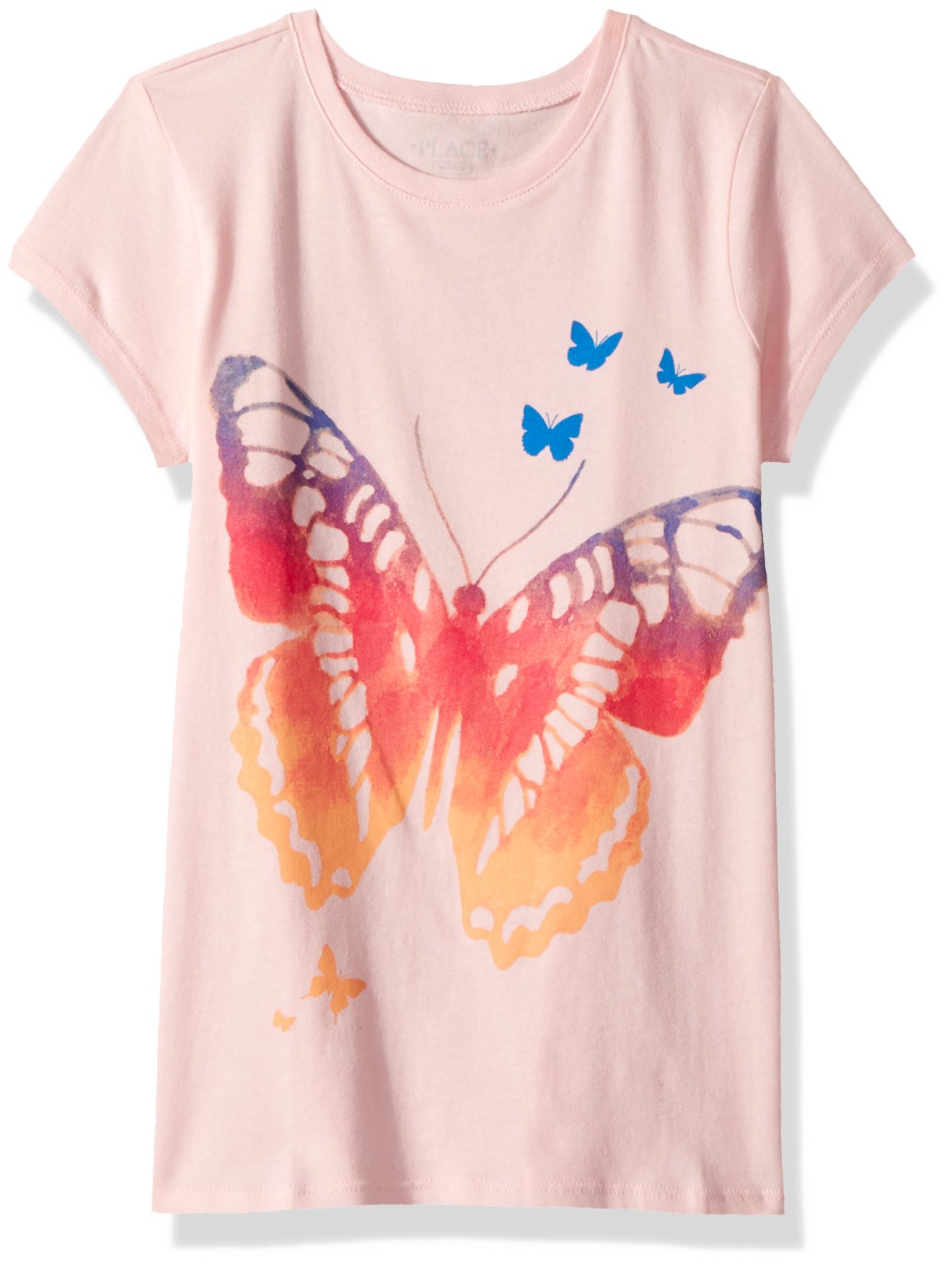 The Children's Place Big Girls' Short Sleeve Graphic Tee