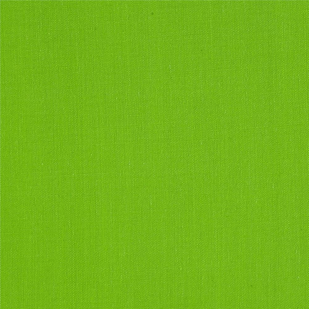 "Ben Textiles 60"" Poly Cotton Broadcloth, Yard, Lime"