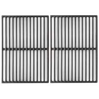 """VICOOL 7526 Cast Iron Grill Grates Cooking Grid for Weber Spirit 300 700 Series, Genesis Silver B/C, Genesis Gold B/C, I - IV & 1000-5000 Grill, 17 1/4"""" Set of 2, HyG752F"""