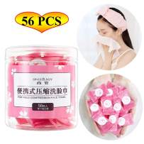 Coin Tissues   Compressed Towels   Camping Wipes   Poratble Disposable Toilet Paper Tablets for Travel Backpacking Camping Home Bathroom Beauty Salon Outdoor Sports(56 PCS)