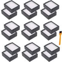 Hongfa Replacement Roomba i7 i7+ i6+ Filters, Replacement parts for i-Robot Roomba i7 7150 i7+/i7 Plus E5 E6 i6+ E7 i3 i3+ Vacuum,Roomba i & e Series Replenishment Filter 18 Packs