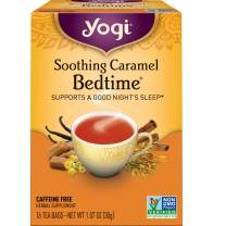 Yogi Tea - Soothing Caramel Bedtime (4 Pack) - Supports a Good Night's Sleep - 64 Tea Bags