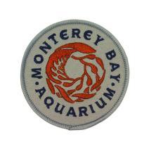 Monterey Bay Aquarium Patch California Travel Badge Embroidered Iron On Applique
