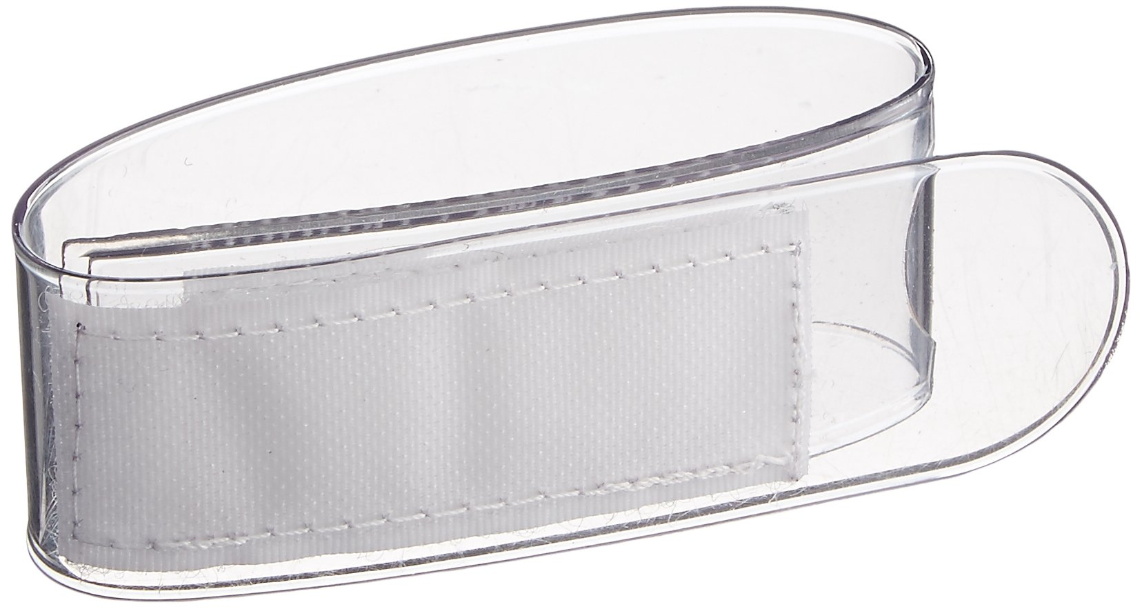 Sammons Preston Plastic Utensil Holder Cuff, Independent Assistive Eating Strap Holds Cutlery for Limited Grasp and Mobility, Safe and Convenient Eating Aid for Elderly, Hand Tremors, Arthritis