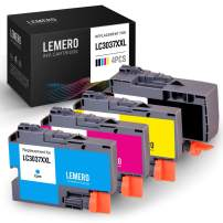 LEMERO Compatible Ink Cartridges Replacement for Brother LC3037 LC3037XXL High Yield - for Brother MFC-J5845DW MFC-J5845DWXL MFC-J5945DW MFC-J6545DW MFC-J6545DWXL MFC-J6945DW, 4-Pack