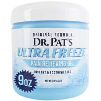 Ultra Freeze Pain Relief Cream - Muscle RubGel for Arthritis, Neuropathy, Foot and Joint - Cooling Sports Massage for Back, Shoulder and Knee - Topical Analgesic Menthol for Neck and Body