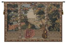 Charlotte Home Furnishing Inc. Belgian Tapestry Wall Hanging - Large, 74 in. x 50 in. Domaine d'Enghien | Castle & Monument Tapestry