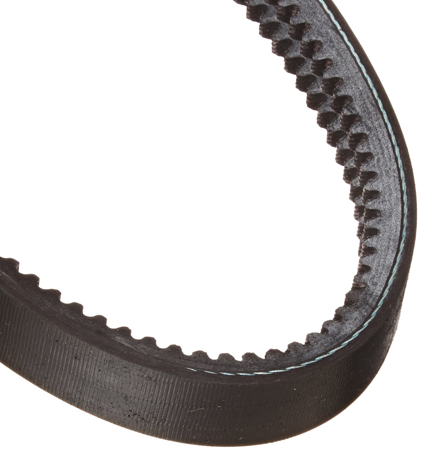 "Gates 2/3VX425 Super HC Molded Notch Powerband Belt, 3VX Section, 3/4"" Overall Width, 21/64"" Height, 42.5"" Belt Outside Circumference"